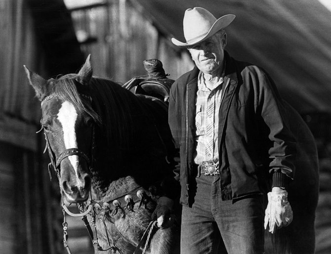 Longtime Steamboat Springs icon Vernon Summer, shown on his ranch in the mid-1990s, died Tuesday evening at the Doak Walker Care Center in Steamboat Springs. Summer was 94.
