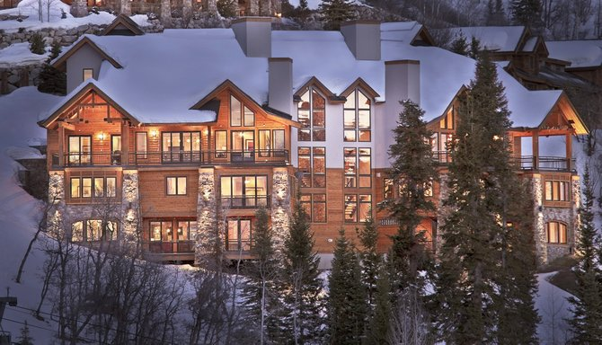 Falconhead Lodge is among the newest and largest private homes managed by Steamboats Moving Mountains Chalets. The home sleeps 14 and is 7,164 square feet.