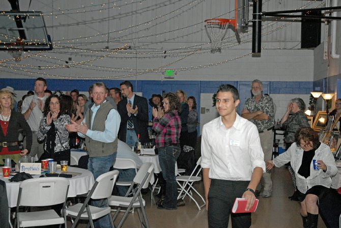 Jose Duarte, a 15 year old sophomore at Moffat County High School, was honored Saturday during Cowboy Christmas as the 2012 Boys and Girls Club of Craig's Youth of the Year. Duarte has been attending the Boys and Girls Club since he was 10 and currently serves as a junior staff member.