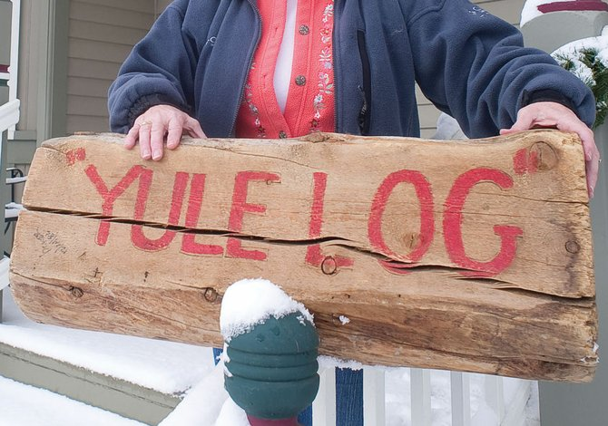 The 3-foot-long, 50-pound log is hidden somewhere in Steamboat Springs and marked Yule Log in red writing. The first clue will be released Monday in the Happenings section of the Steamboat Today.