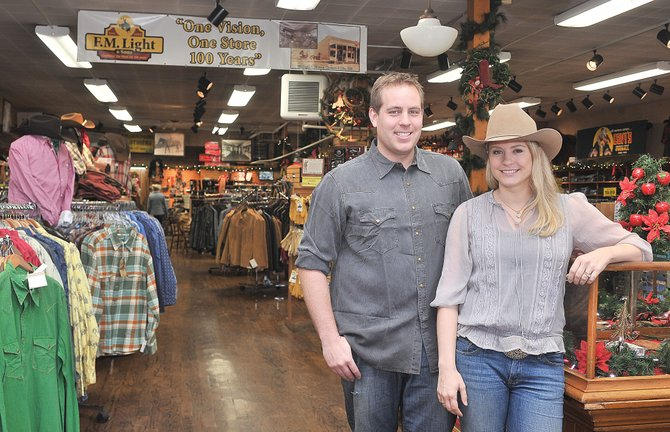 Lindsay (Lockhart) Dillenbeck and her husband, Chris, will continue a long-standing tradition in Steamboat Springs after taking over family-owned F.M. Light & Sons.