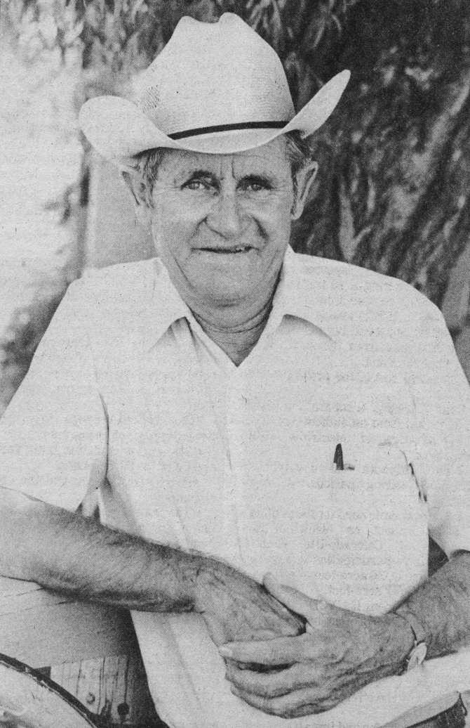 Steamboat Springs rancher and real estate investor Donald Lufkin is pictured in June 1984.