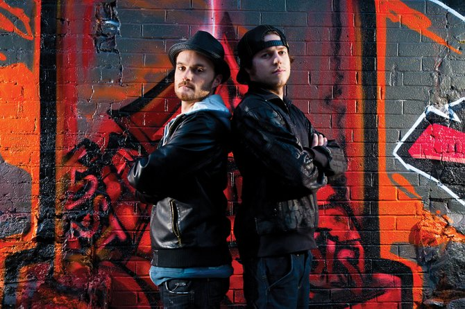 Canadian DJ duo The Funk Hunters makes an appearance at The Tap House Sports Grill on Friday. The show starts at 10 p.m., and the cover is $5.