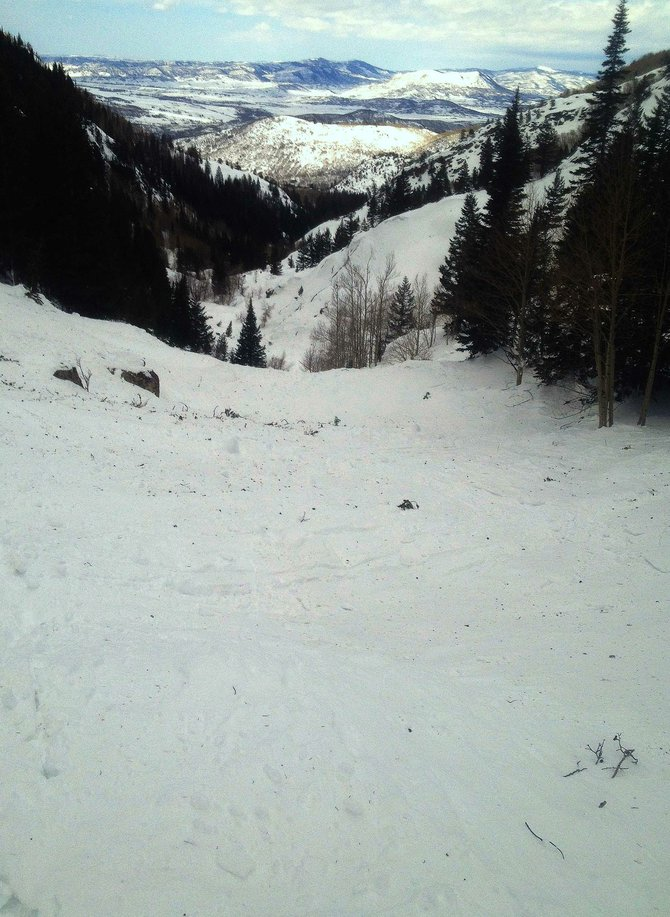 A massive avalanche tore down Fish Creek Canyon in February, shattering the idea among some locals that the canyon wasn't prone to slides.