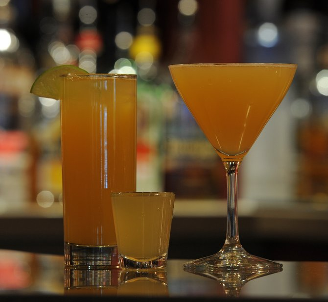 The Golden Antler, a new drink at Steamboat Ski Area, was designed in celebration of the ski area's 50th anniversary and is available as a shot, on the rocks or as a martini.