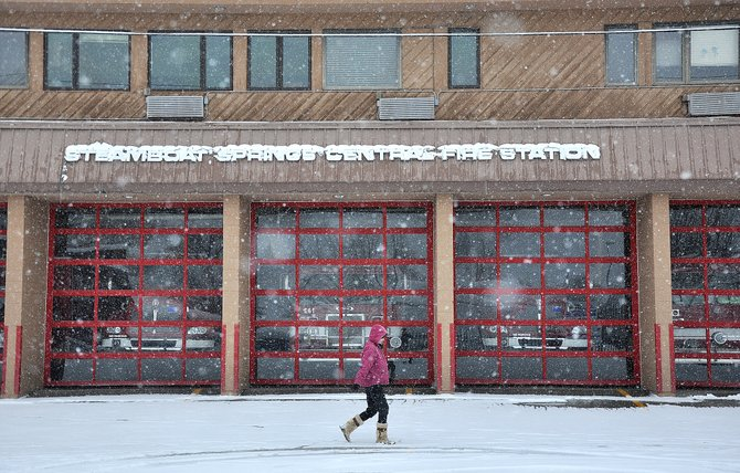 The Steamboat Springs City Council on Tuesday night approved the first reading of a contract to sell the city's downtown emergency services building to BAP, Big Agnes and Honey Stinger.