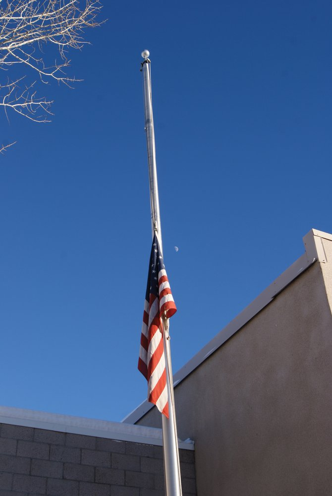The flag at the Craig Fire Department remains at half mast in honor of the 26 who lost their lives at Sandy Hook Elementary School in Newtown, Conn. Regardless of geographical distance, the tragedy sent shock waves and raised questions about the safety of children throughout the country, including in Moffat County. Moffat County School District administrators this week hosted two community meetings to let area parents ask questions and address concerns as well as to inform them of the district's safety protocols.