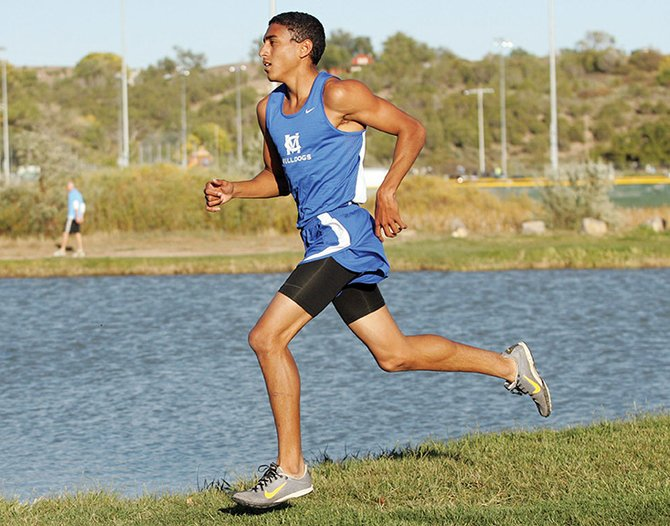 Alfredo Lebron was a state champion his senior year of cross-country in 4A. He has had to make several adjustments moving into a collegiate running career at Garden City Community College in Kansas.