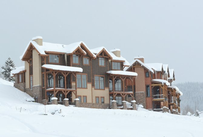 This month's sale of three luxury townhomes at Chadwick Estate Villas has helped that market segment at the base of the ski area turn a corner.