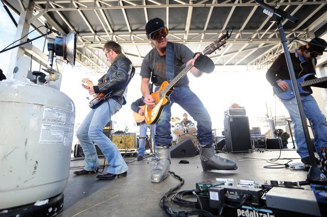 Country artist Jack Ingram performs in Gondola Square during MusicFest in 2010. Ingram will play a free public show Jan. 6 on the Steamboat Stage with Ashley Ray opening to kick off this year&#39;s event. 