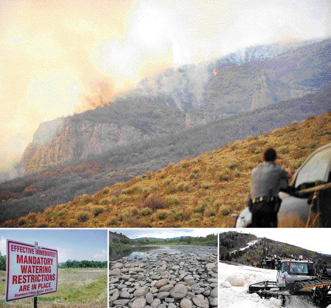 Wildfires, drought, low flows in the Yampa River and below-average snowfall were just a few of the issues that dominated the Routt County news cycle in 2012 and served as a reminder of how much Northwest Colorado depends on water.