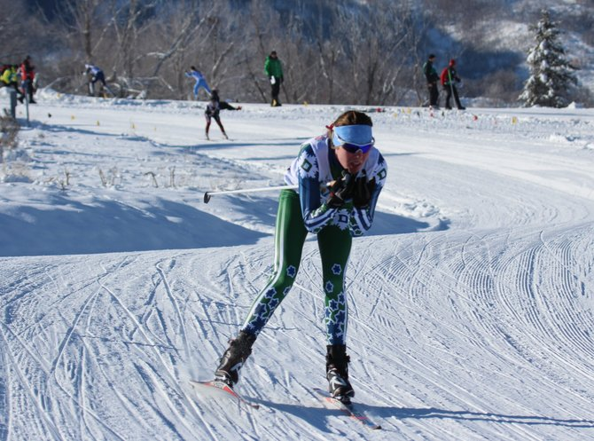 Steamboat Springs' Mary O'Connell races Friday at the U.S. Cross Country Championships in Soldier Hollow. O'Connell was the top junior and seventh overall in an individual-start, 10-kilometer race.