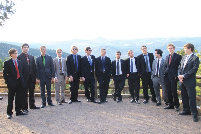 The CU Buffoons, a men's a cappella group from the University of Colorado Boulder, will perform at 7 p.m. Saturday at the Colorado Mountain College auditorium. Tickets are $20 for adults, $10 for students and free for children younger than 10.