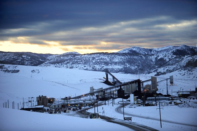 Twentymile Mine operates 24 hours per day, 361 days each year about 15 miles southeast of Steamboat Springs.