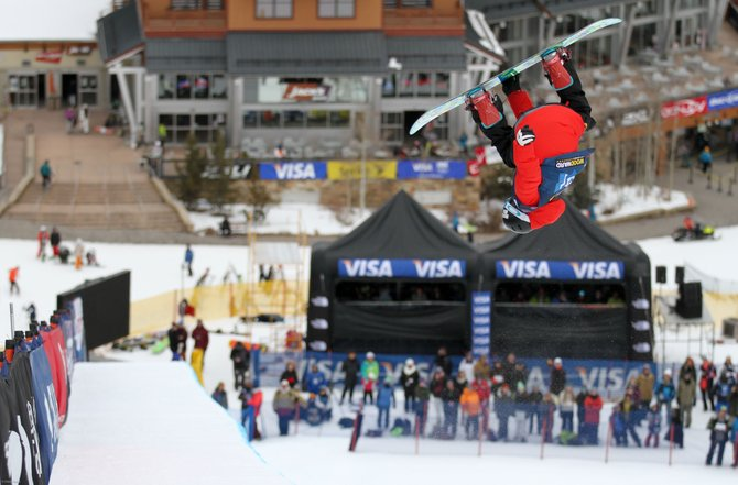Steamboat Springs' Matt Ladley pops out of the pipe at the U.S. Grand Prix in Copper Mountain earlier this season. Ladley is preparing for his third X Games, which start Thursday in Aspen.