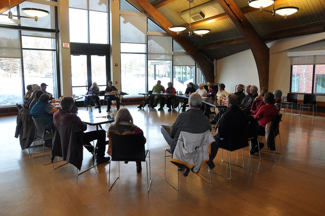 State Rep. Diane Mitsch Bush holds a town hall Sunday at Bud Werner Memorial Library