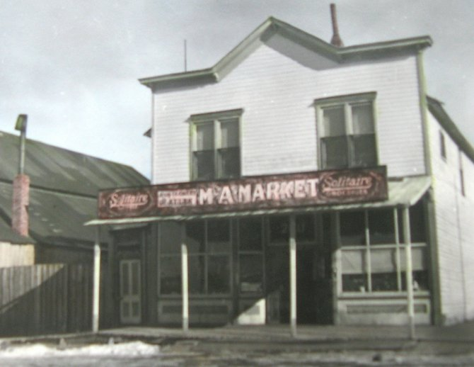 The nearly 110-year-old Crossan's M&A Market building in Yampa recently was added to the National Register of Historic Places.