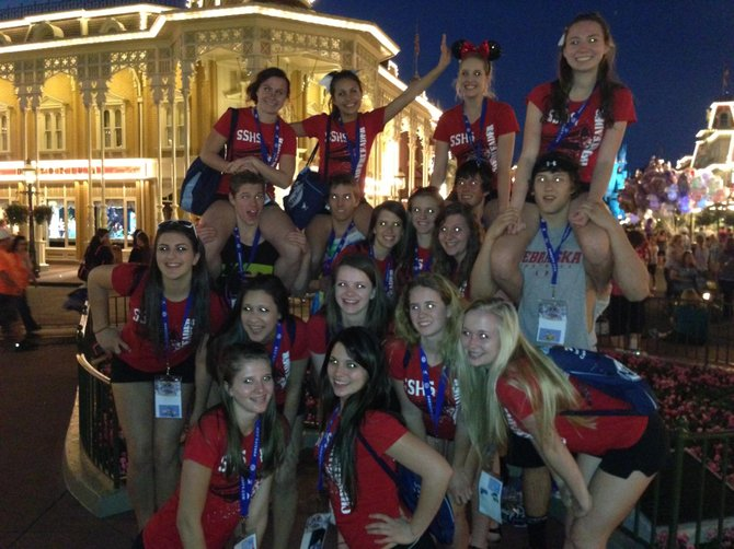 The Steamboat Springs High School cheerleading team recently returned from the national competition in Orlando, Fla.
