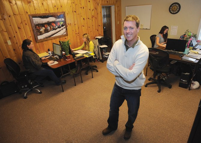 LDM Global CEO Chris O'Reilly has made good on his plans to grow his location-neutral business in Steamboat Springs. The company has grown from four employees in June to 12 now, and he expects that trend to continue this year.