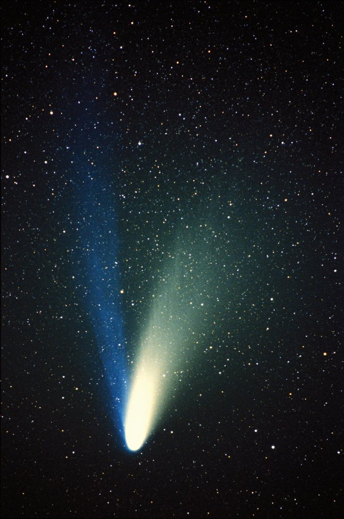 "The last ""great comet"" to grace northern hemisphere skies was Comet Hale-Bopp, back in the spring of '97. There are two bright comets headed our way this year that could challenge or surpass Hale-Bopp: CometPanSTARRS and Comet ISON. Telescopes won't be of much use when these comets are big and bright in our sky, but binoculars will enhance the view. Binoculars make a great ""first telescope."""