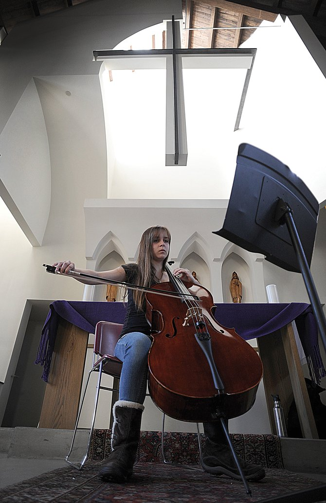 Cellist Nissa Parker, a senior at The Lowell Whiteman School, will perform her senior recital at 7 p.m. Friday at St. Paul's Episcopal Church.