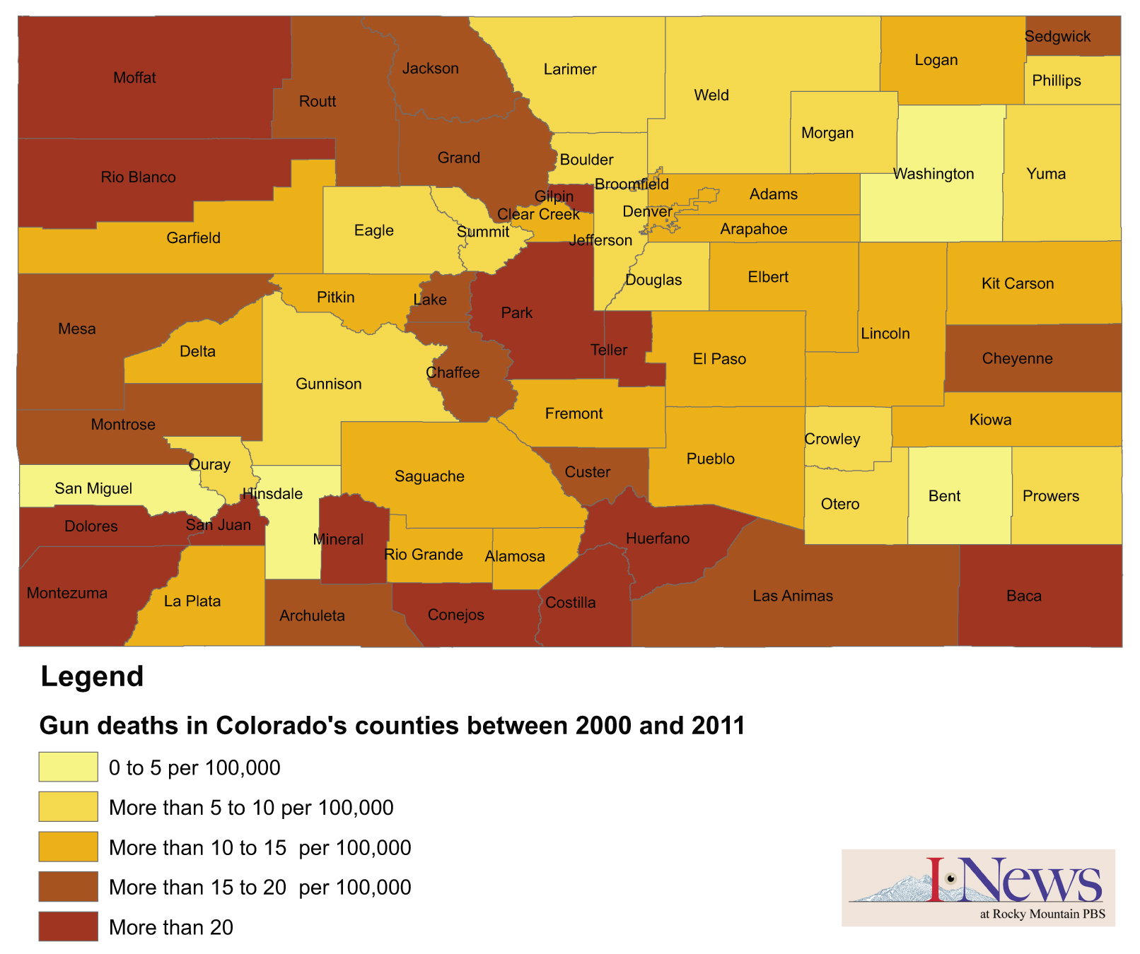 Analysis: Most Gun Deaths In Colorado Are Suicides