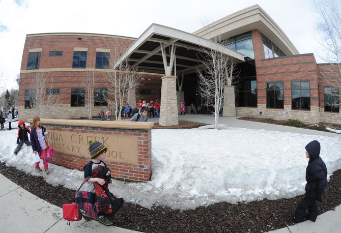 The Steamboat Springs School District recently refinanced some of the bonds issued to construct Soda Creek Elementary School and make  improvements at Strawberry Park. The move is expected to save taxpayers about $80,000 annually for the next 10 years.