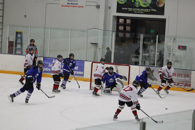 The Steamboat bantam A youth hockey team wrapped up its season during the weekend after a loss in the semifinals of the league tournament.