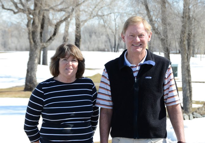 David Hardison and his wife, Donna, recently moved to Craig. Hardison is the new head golf professional at Yampa Valley Golf Course.