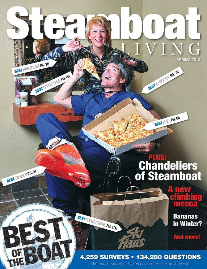 The third year of Steamboat Living magazine's Best of the Boat survey culminated Monday with an evening cocktail party announcing the winners.