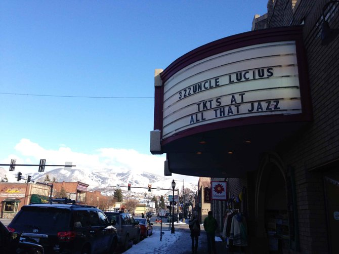 The marquee of the Chief Theater, located on Lincoln Avenue in downtown Steamboat Springs, has become a beacon of art-related news in Steamboat since the theater's sale last October.
