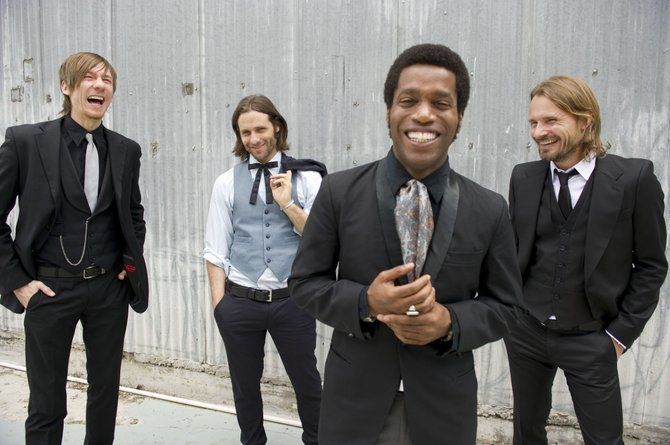 Vintage Trouble, a rock 'n' roll band from Los Angeles, will perform a free concert Aug. 16 in Steamboat Springs as part of the Free Summer Concert Series.