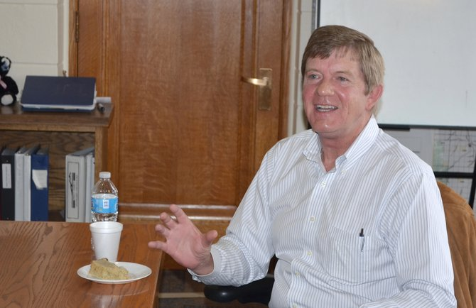 U.S. Rep. Scott Tipton, R-Cortez, spoke to the Routt County Board of Commissioners on Tuesday about land-use policy issues facing the 3rd Congressional District.