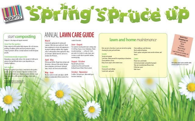 Spring Spruce Up- Craig Daily Press Insights