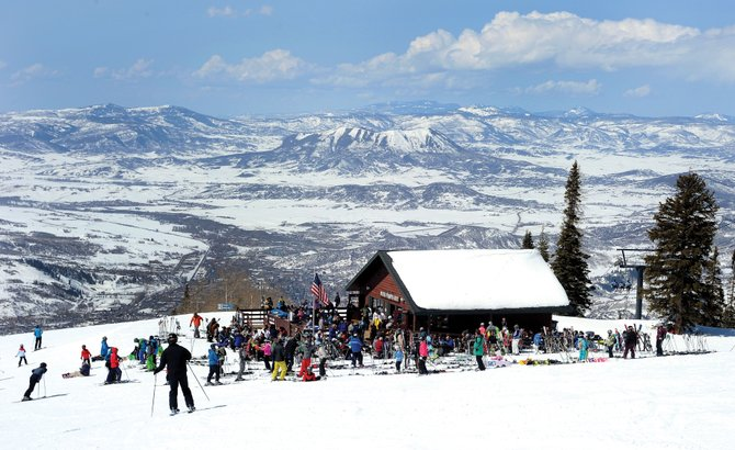 Four Points Hut will close for the season April 7 so Steamboat Ski and Resort Corp. can move forward with plans to construct the 13,000-square-foot Four Points Lodge at the location.