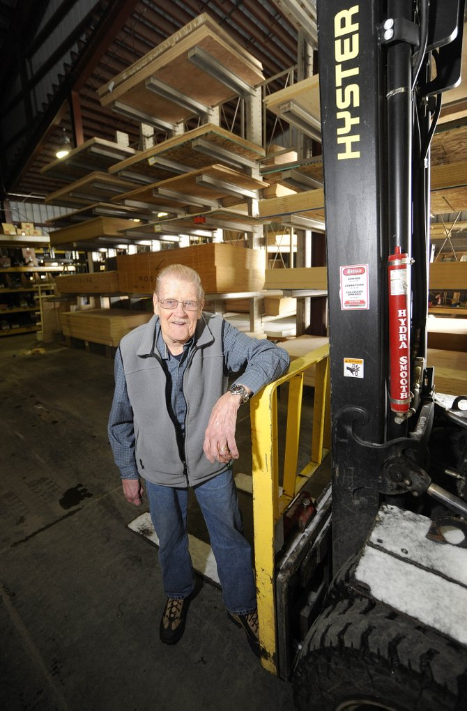 "Wendell ""Wendy"" Hicks is celebrating 50 years of working at Steamboat Lumber. An open house is from 8 a.m. to 2 p.m. Thursday at the business, 1901 Shield Drive."