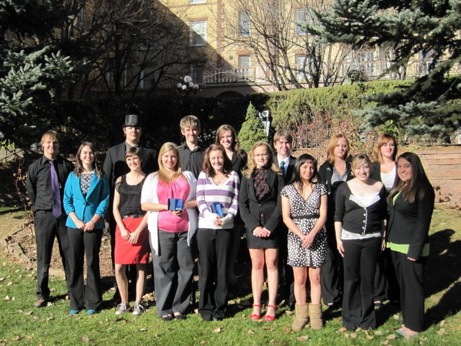 The Moffat County High School Future Business Leaders of America team has nine members competing at the state competition Sunday through Tuesday in Vail. Aubrey Campbell, Morgan Carrico, Erica Dilldine, Chris Goucher, Sheldon Hershiser, Kristina McLeslie, Robert Meyers, Elisa Teeter and Cassidy Wagner will represent MCHS at the competition.