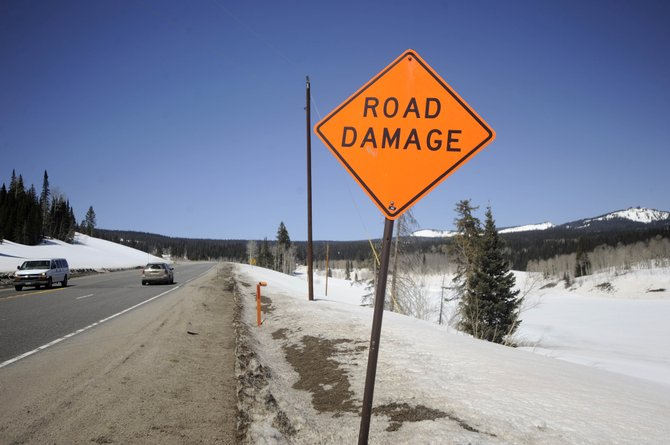 The Colorado Department of Transportation will spend $1 million to $2 million this summer on a permanent fix for a troublesome section of U.S. Highway 40 on the east side of Rabbit Ears Pass.