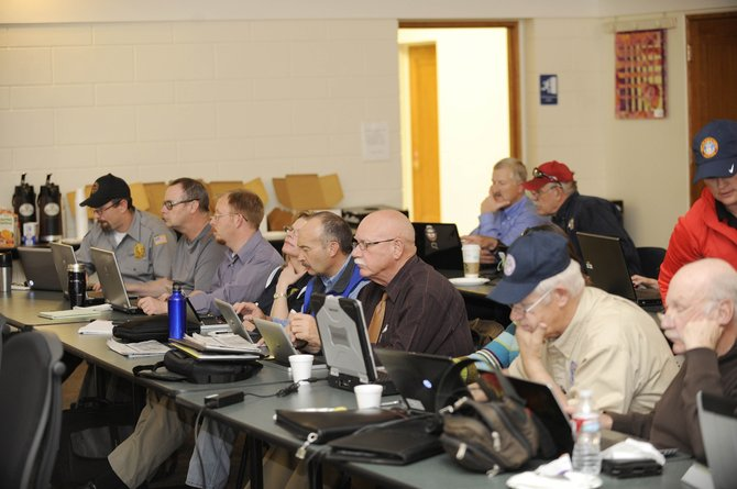 Northwest Colorado emergency and law enforcement officials attended a social media training workshop Thursday at the Routt County Courthouse.