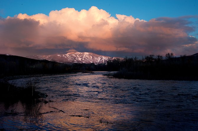 The lower temperatures that came along with a snowstorm this week caused the Yampa and Elk rivers to drop.
