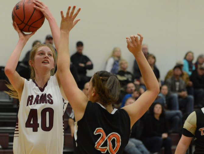 Although she was sixth on the team in scoring, Soroco senior Josie Rossi led the team with 75 blocks — more than the rest of the Rams combined — along with collecting 52 steals.