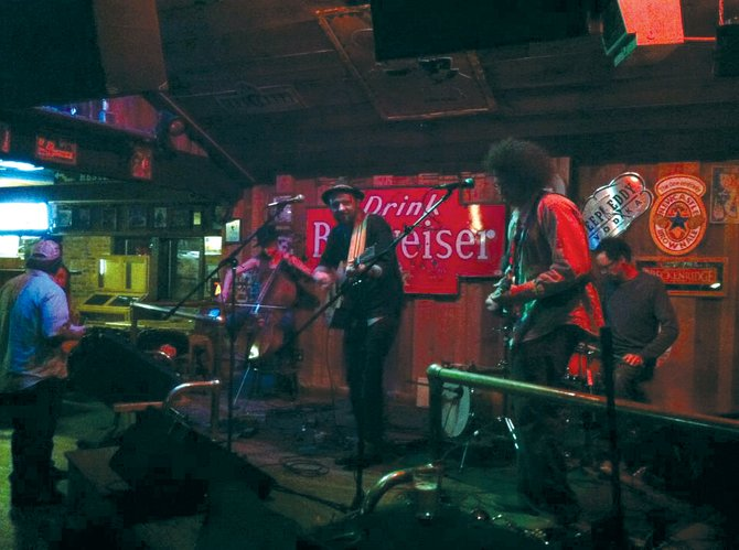 Oak Creek band House with a Yard performs at The Tugboat Grill & Pub. The group will join Guerin Lewis and '80s tribute band All About Me at the Chief Theater for the Locals Party on Sunday night.