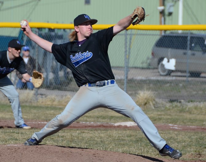 Bubba Ivers served as a starting pitcher and center fielder for the Moffat County baseball team. Ivers' love of the game, and the success he's seen while playing it, in part can be credited to his father, who played a major role in his son's development as a player before passing away from lung cancer when Bubba was in seventh grade.