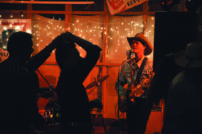 Sundog's Randy Kelley performs during a 2012 Community Barn Dance. He was deemed the best interview of 2014 by Arts and Entertainment reporter Audrey Dwyer.