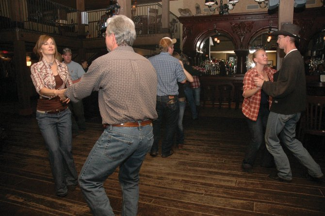 Steamboat residents cut loose during Steamboat Stomp. The latest installment of the free country swing dancing event will take place Friday at Murphy's Tavern at Clark's Glen Eden Resort.