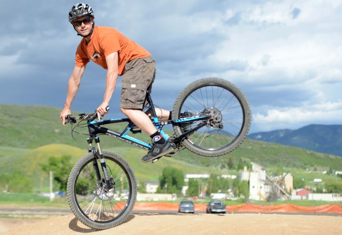 Trevyn Newpher, 31, raced as a pro downhill mountain biker based out of West Virginia before settling in Steamboat Springs full time for the first time this summer. A regular champion on the winter's Town Challenge alpine skiing circuit, now he's focused on relaying his skills in downhill mountain biking and will host a series of camps through the Steamboat Springs Winter Sports Club this summer.