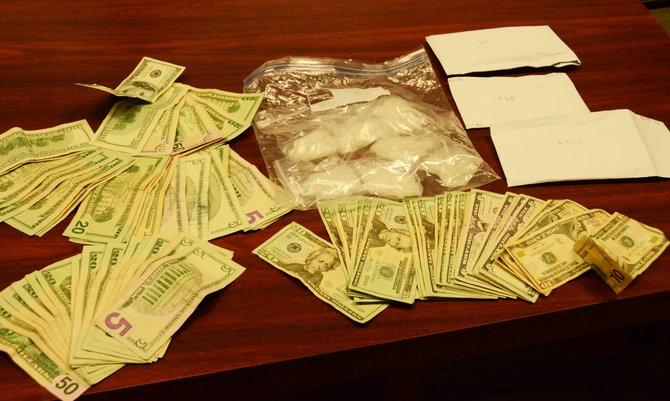 Approximately 105 grams of methamphetamine and over $3,000 in cash were seized from 796 Barclay St. after the All Crimes Enforcement Team drug task force executed a search warrant at the residence Tuesday.