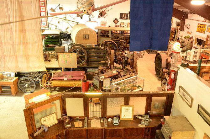 Wyman's Living History Museum is home to a great variety of trinkets, trophies, cars and more. It includes the main museum building, icehouse, blacksmith's shop, pagoda store, and the pen for JR the elk. Wyman's was voted the best tourist attraction in Moffat County for 2013.