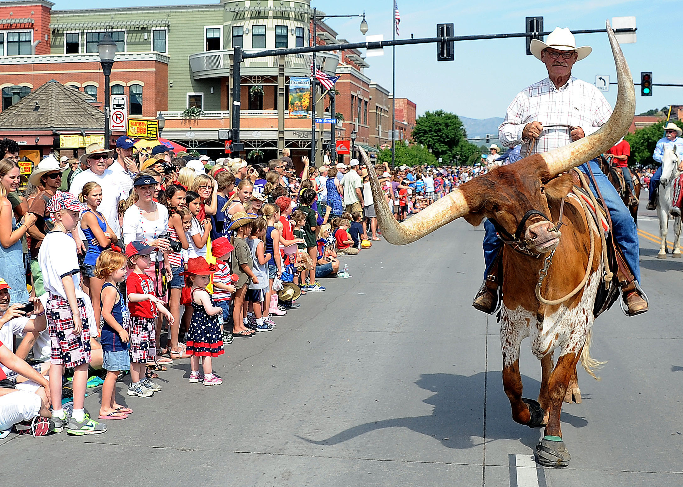 Steamboat S July 4th Features Long History Local Flavor