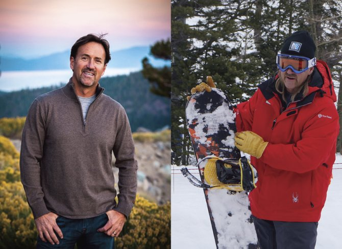 Hair Today, Gone Tomorrow: Squaw Valley CEO Andy Wirth before and after his makeover.